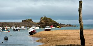 Bude Harbour, North Cornwall.