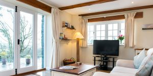 The Stables, farm holiday cottage accommodation, Bude, North Cornwall.