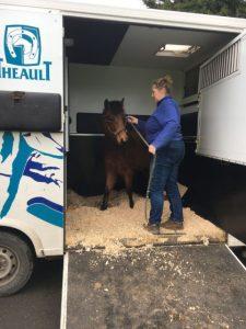 Pringle arrives in truck