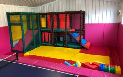 Soft Play Added to Games Room