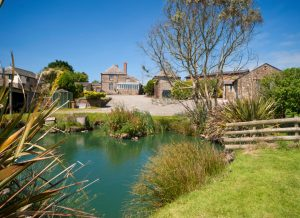 farm cottages with pool Cornwall