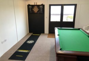 Games Room Snooker and darts